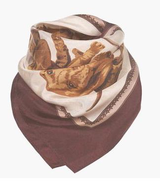 стиль одежды бабушкин платок.
