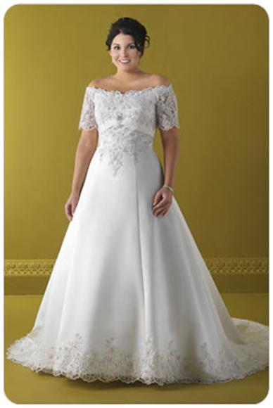 Свадебные платья для полных девушек: купить закрытое платье