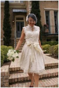 Модные пышные свадебные платья (2012).