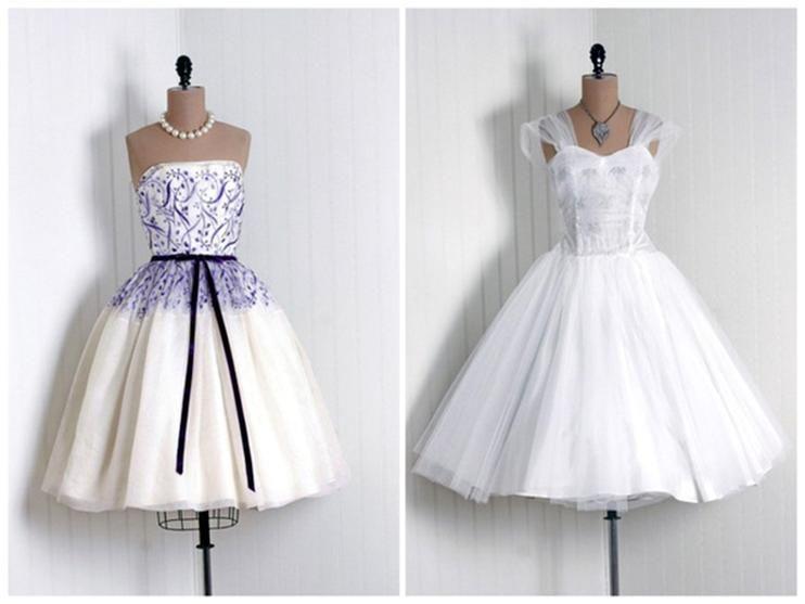 Свадебные платья в стиле ретро и