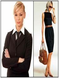 Описание: Деловой стиль и одежда делового стиля.