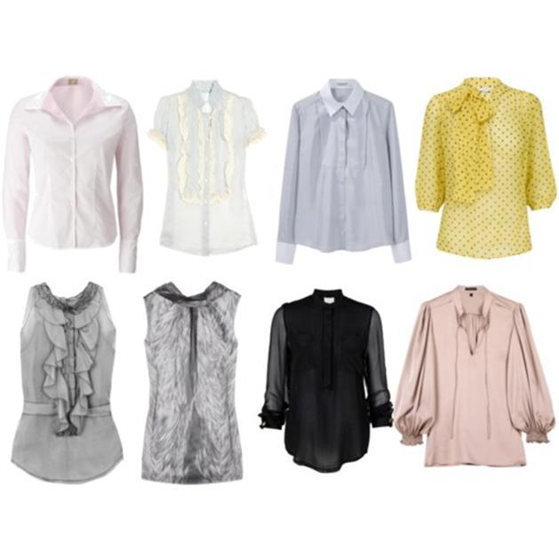 Модные блузки из шифона своими руками 81